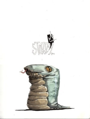 Stubby Illustration